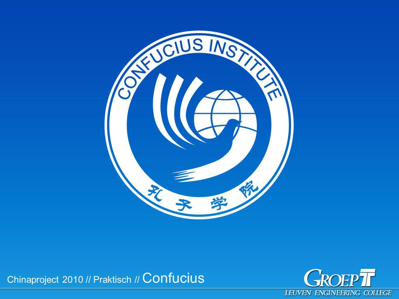 Chinaproject 2010 // Praktisch // Confucius