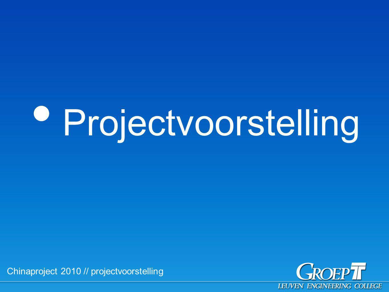 Chinaproject 2010 // Praktisch // Begeleiding // Coördinatoren