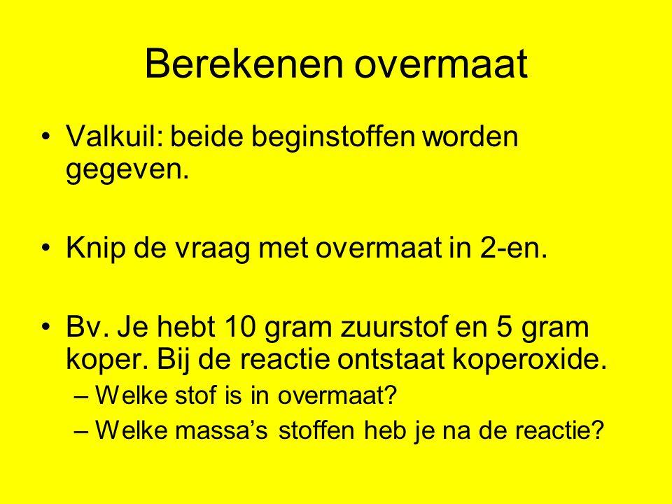 2 vragen van maken 1.hoeveel gram koper reageert met 10 gram zuurstof.