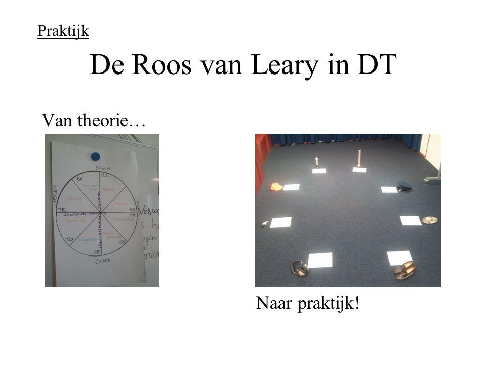 De Roos van Leary in DT Van theorie… Naar praktijk! Praktijk