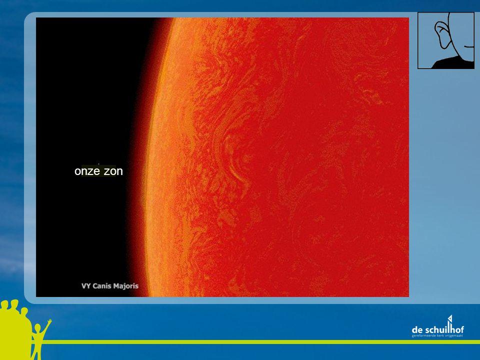 onze zon