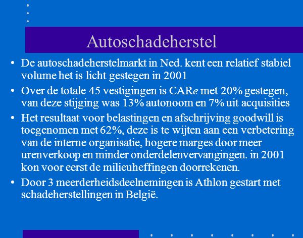 Autoschadeherstel CARe Schadeservice