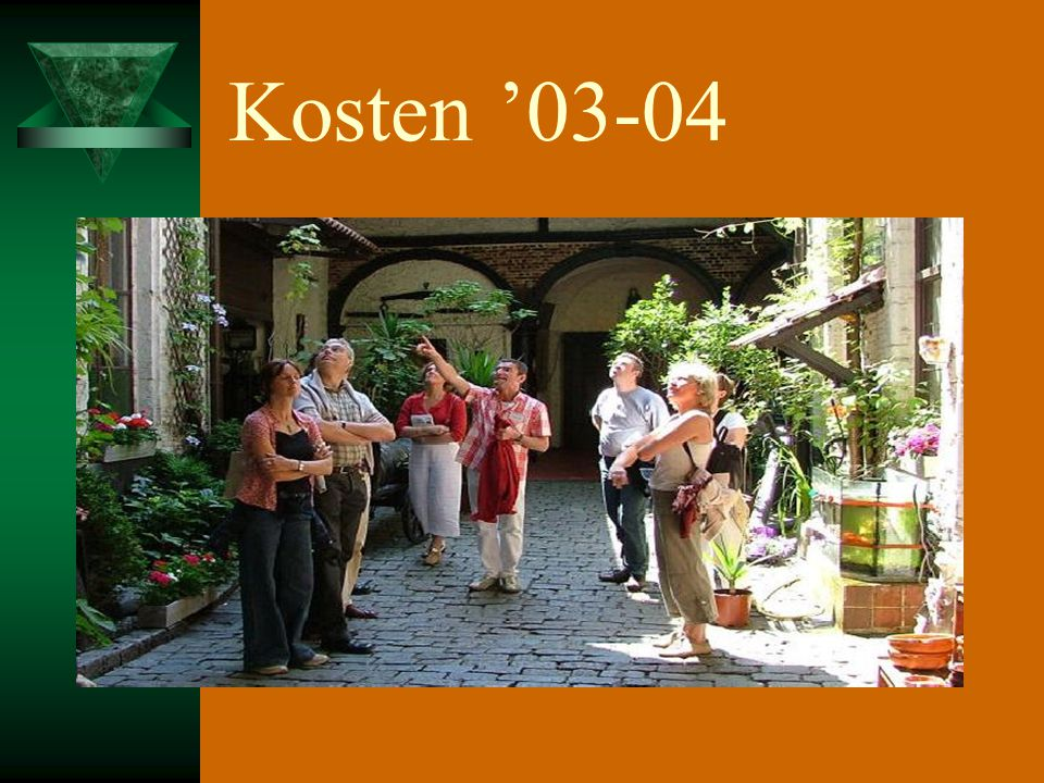 Kosten '03-04