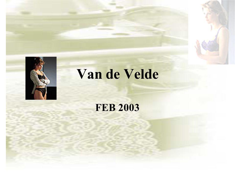 Van de Velde FEB 2003