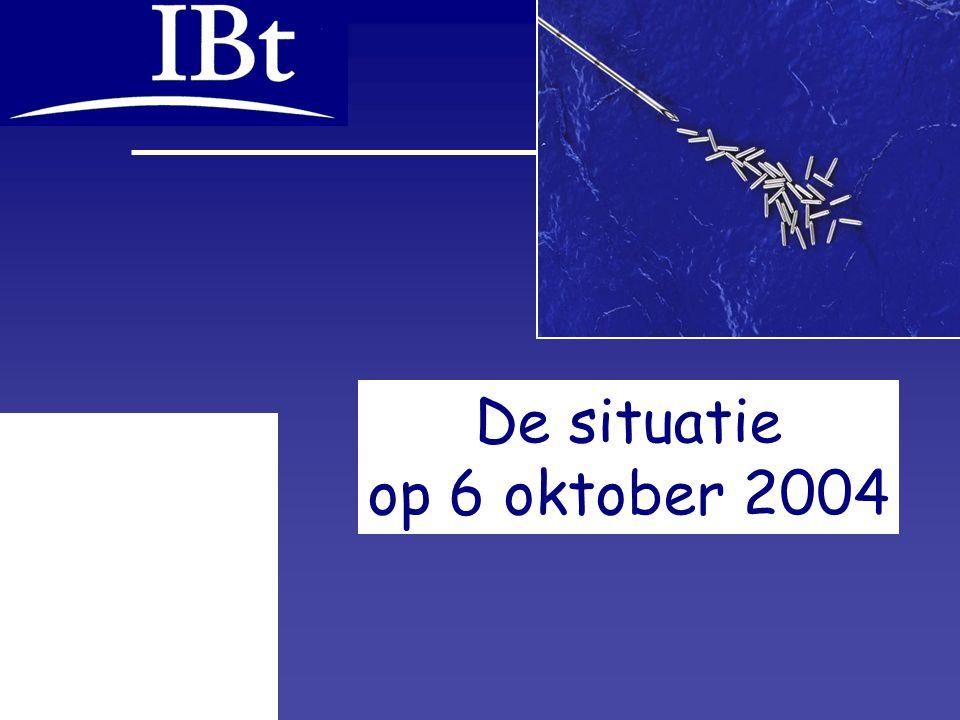 6 okt. 2004, IBt pag. 9 van 17 De situatie op 6 oktober 2004
