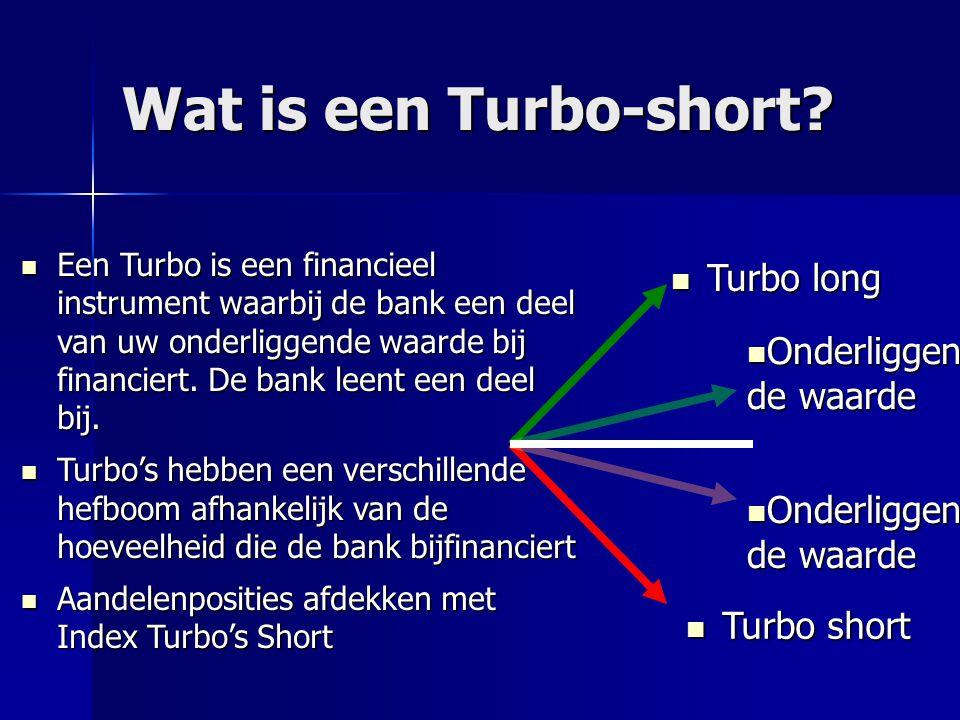 Hoe gebruiken we een Turbo-short.