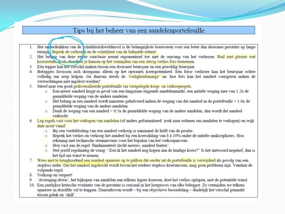 Stoploss 24.5 Geschreven call optie +0.5 Geval C IMTECH Saldo 0.35 euro te betalen voor 2 maanden bescherming = ongeveer 1.3 %
