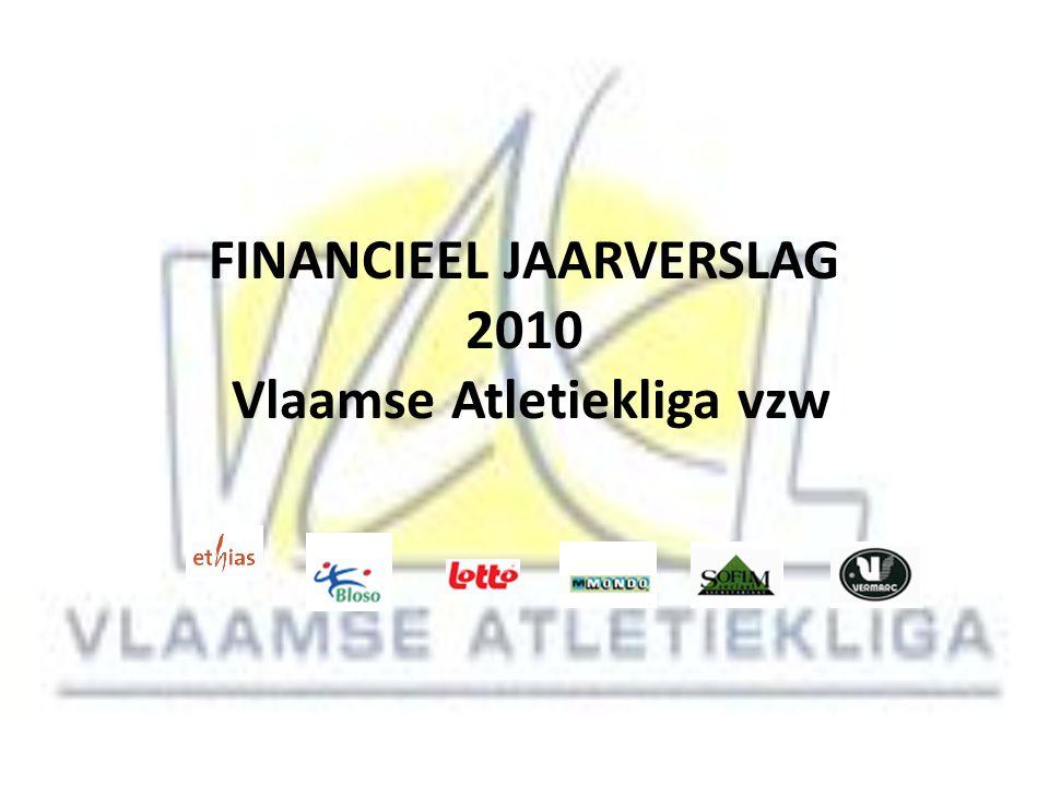 FINANCIEEL JAARVERSLAG 2010 Vlaamse Atletiekliga vzw