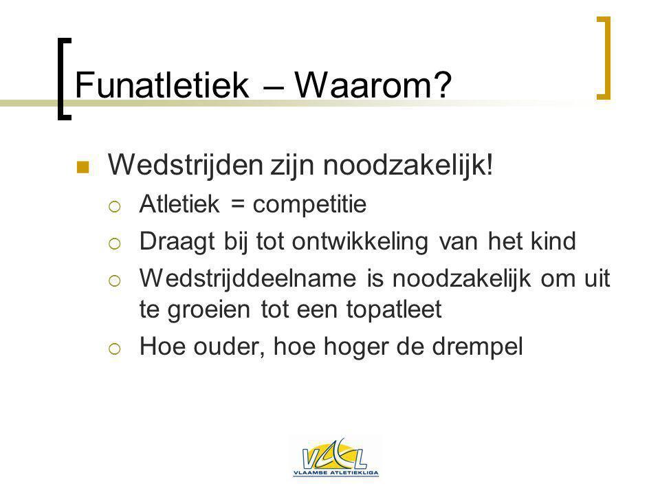 Draaiboek organisatie Fundag Wie zet de eerste stap.