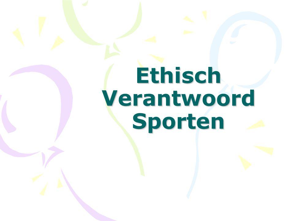 Ethisch Verantwoord Sporten