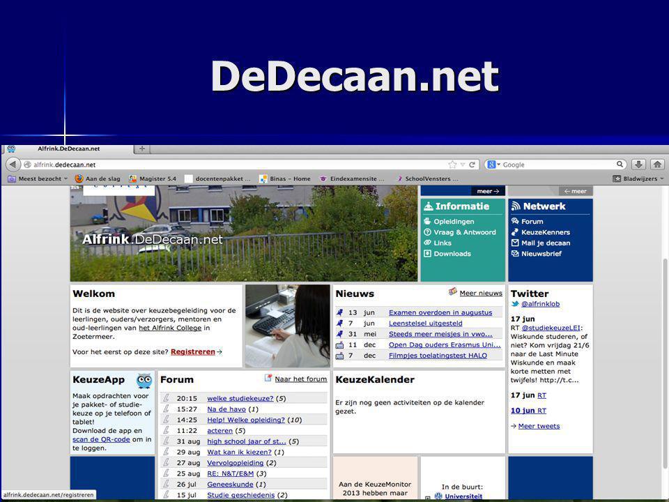 DeDecaan.net