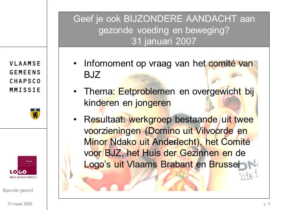 31 maart 2009 Bijzonder gezond p.
