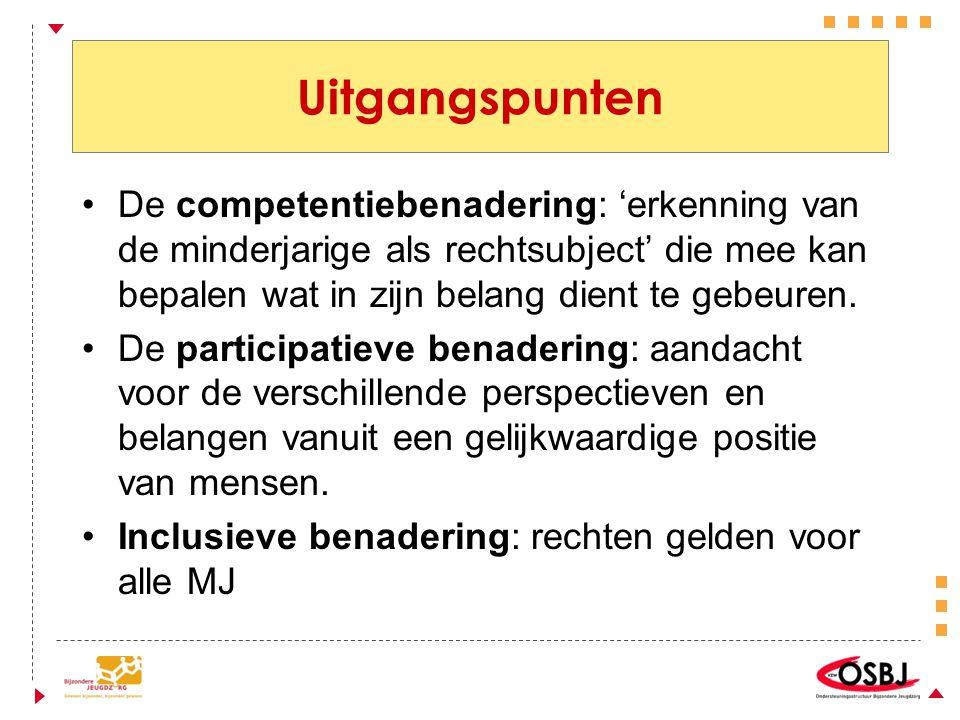 Recht op instemming en vrije keuze Van de 'buitengerechtelijke jeugdhulp' Art.