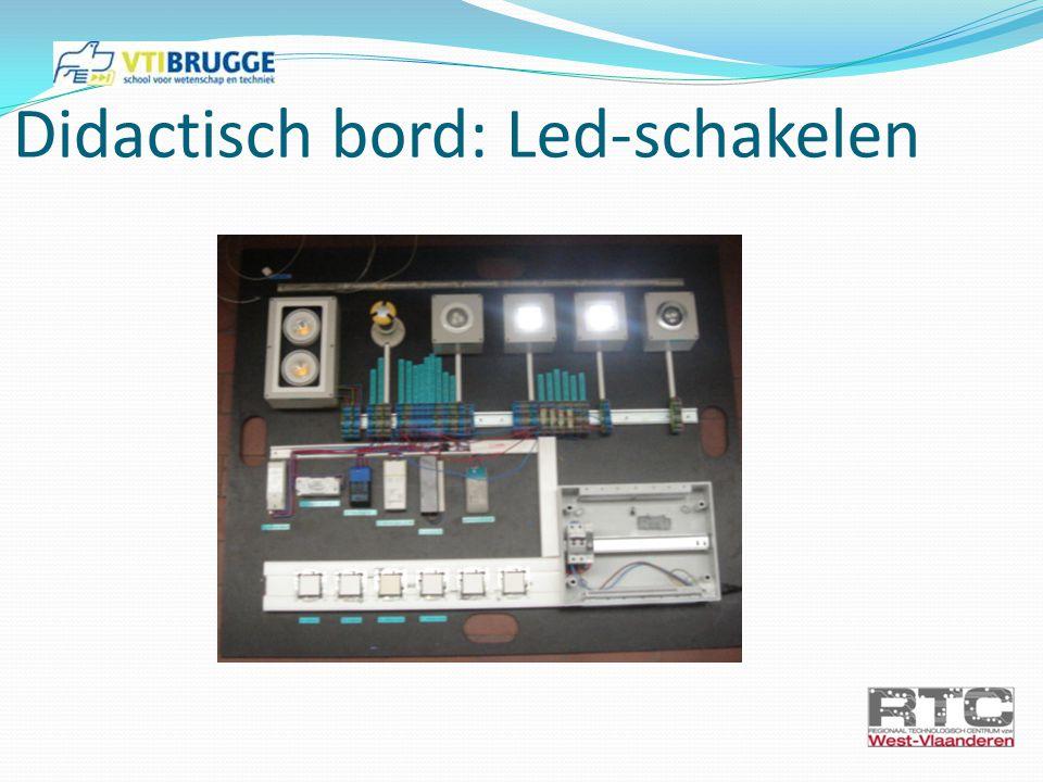 Oefening 3: LED-strip schakeling 3a: LED-strips monteren en connecteren; aansturen met NIKO voeding