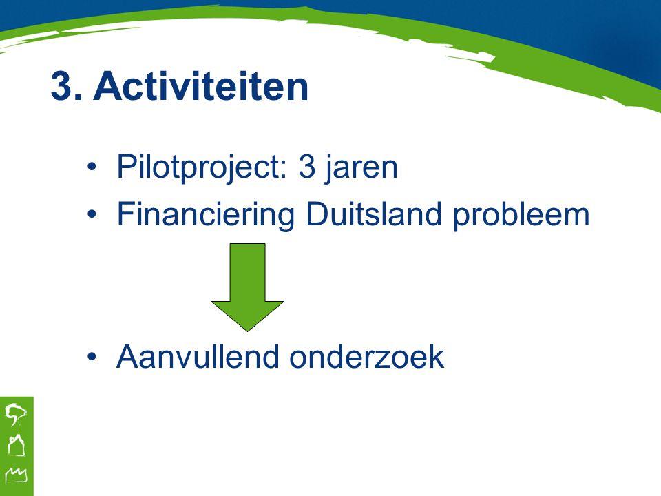 1.Onderzoek reizigerspotentieel 2.Kosten- en businessplan 3.PR-plan 4.Go or no go-besluit