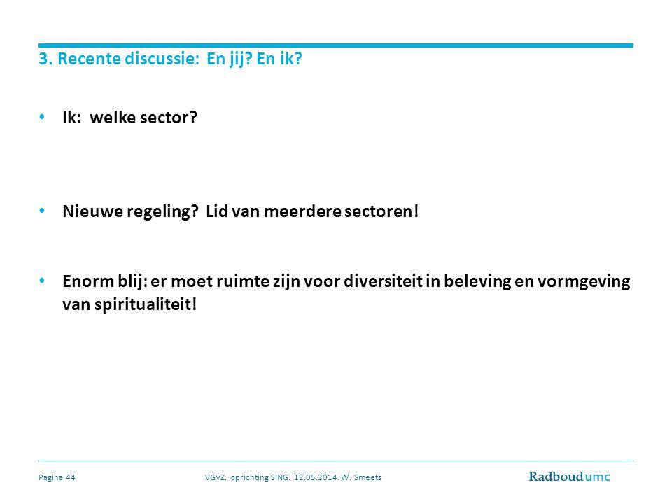 Veelkleurige beleving en vormgeving: nr 1! VGVZ. oprichting SING. 12.05.2014. W. SmeetsPagina 45