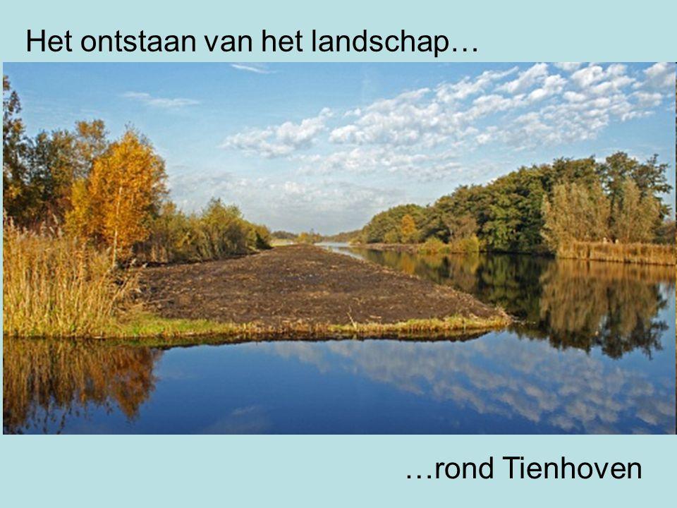 Het ontstaan van het landschap… …rond Tienhoven