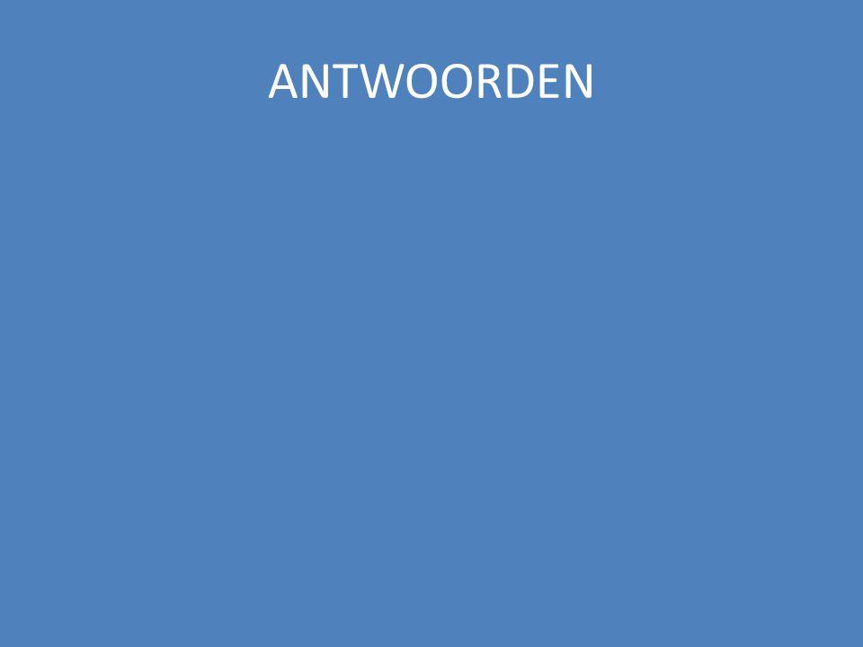 ANTWOORDEN