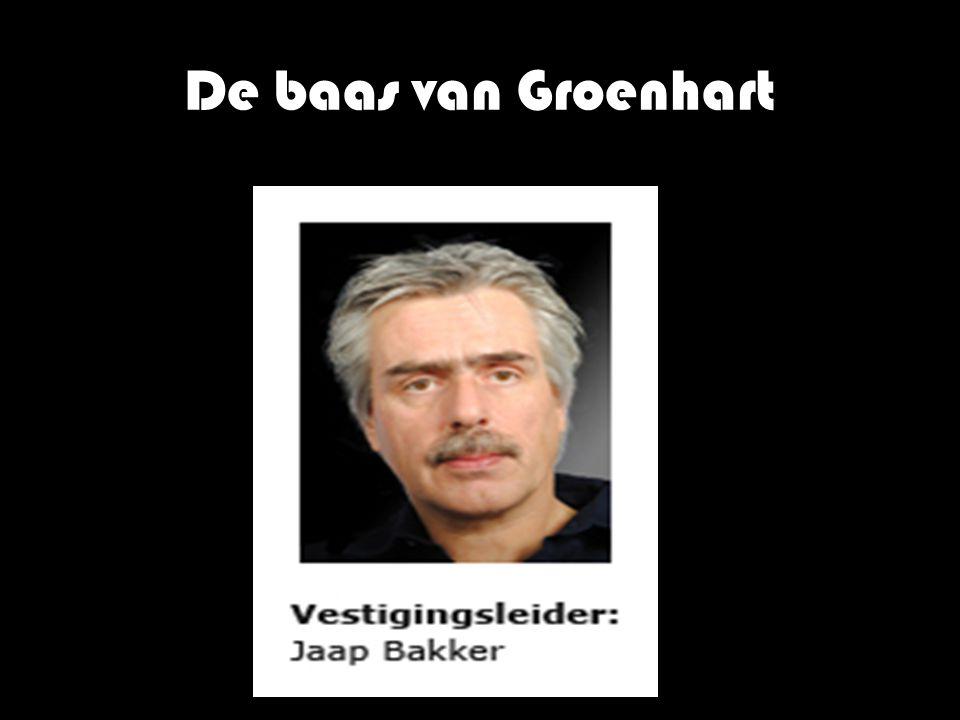 De baas van Groenhart