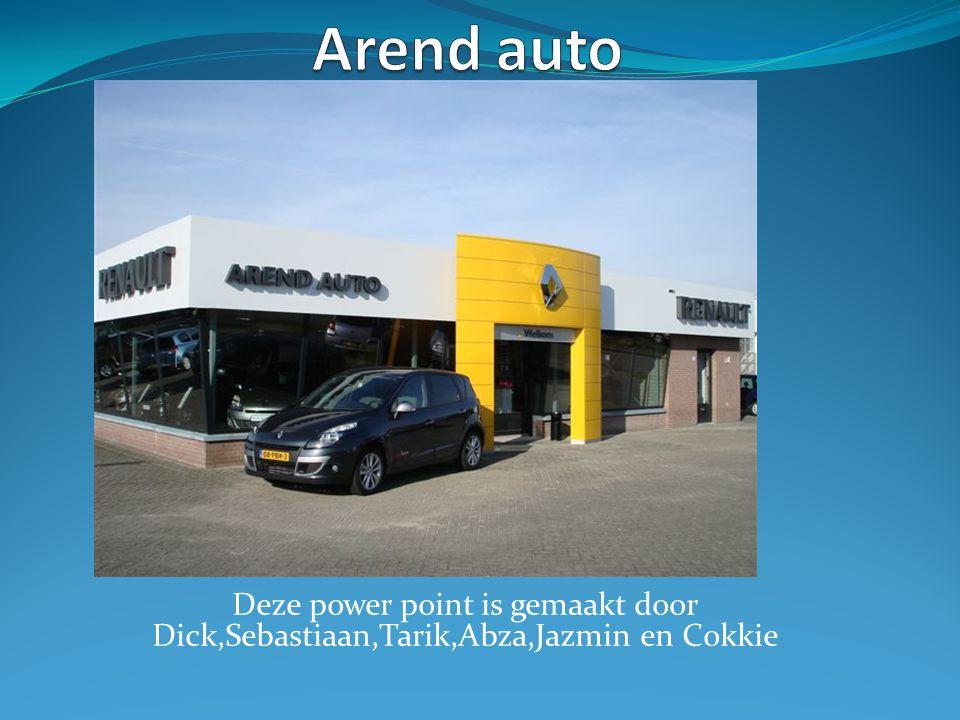 Deze power point is gemaakt door Dick,Sebastiaan,Tarik,Abza,Jazmin en Cokkie