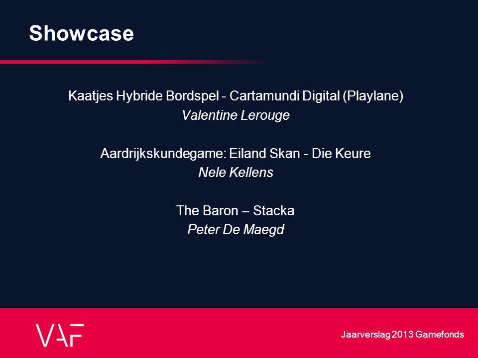 Showcase Kaatjes Hybride Bordspel - Cartamundi Digital (Playlane) Valentine Lerouge Aardrijkskundegame: Eiland Skan - Die Keure Nele Kellens The Baron