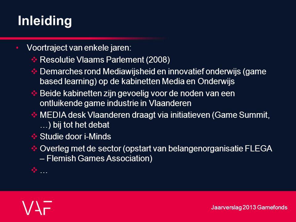 Inleiding Voortraject van enkele jaren:  Resolutie Vlaams Parlement (2008)  Demarches rond Mediawijsheid en innovatief onderwijs (game based learnin