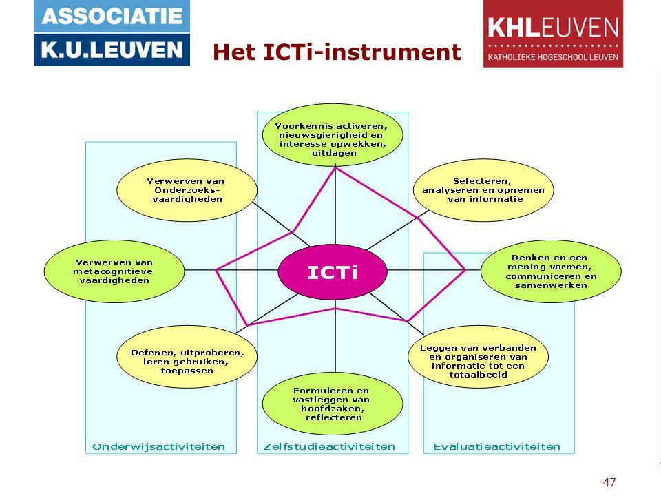 47 Het ICTi-instrument