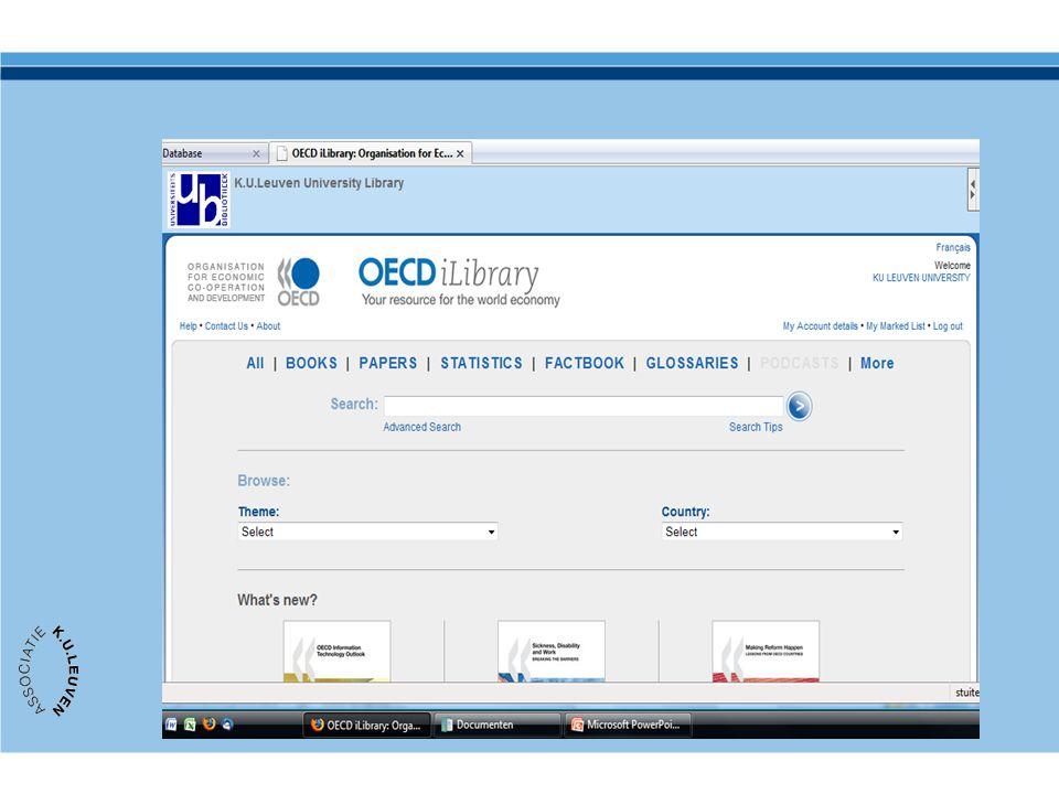 (Nieuwe) publicaties: online toegankelijk