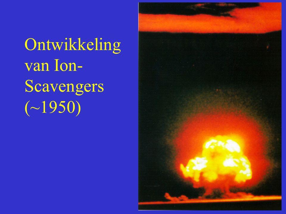 Ontwikkeling van Ion- Scavengers (~1950)