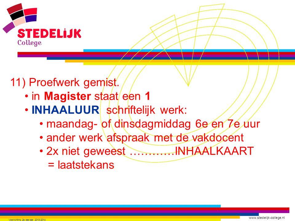 www.stedelijk-college.nl 12) Overgangsnormen.13) Vas-toetsen.