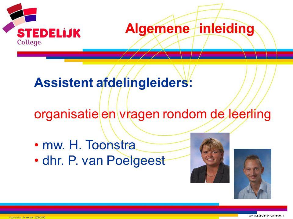 www.stedelijk-college.nl Voorlichting 3 e leerjaar 2009-2010 LO (lichamelijke opvoeding) Moet voldoende (of goed) zijn anders geen recht op een diploma Algemene inleiding