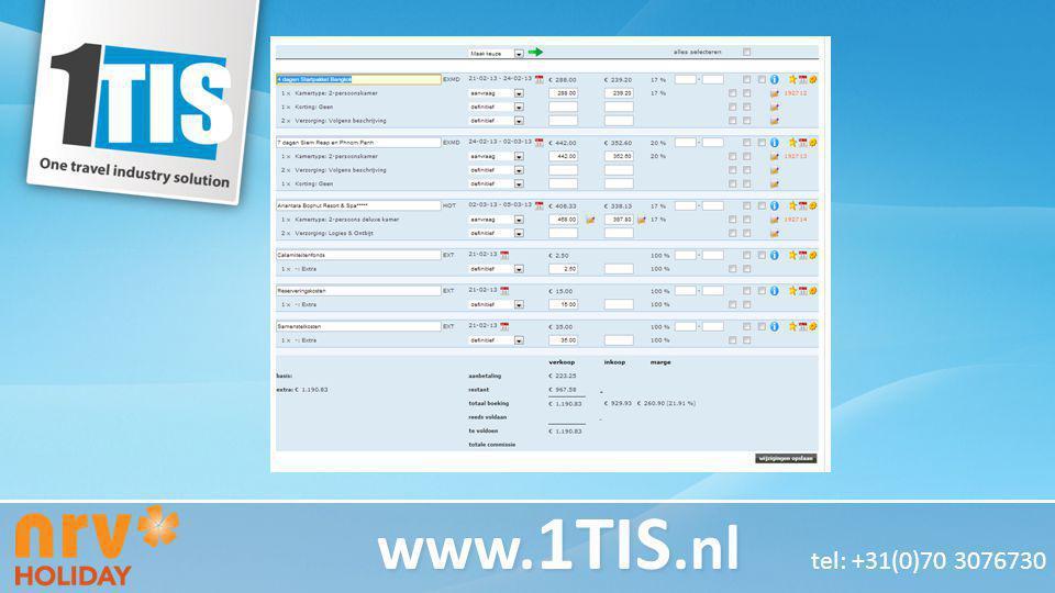 Test Koptekst Test tekst www. 1TIS.nl www. 1TIS.nl tel: +31(0)70 3076730