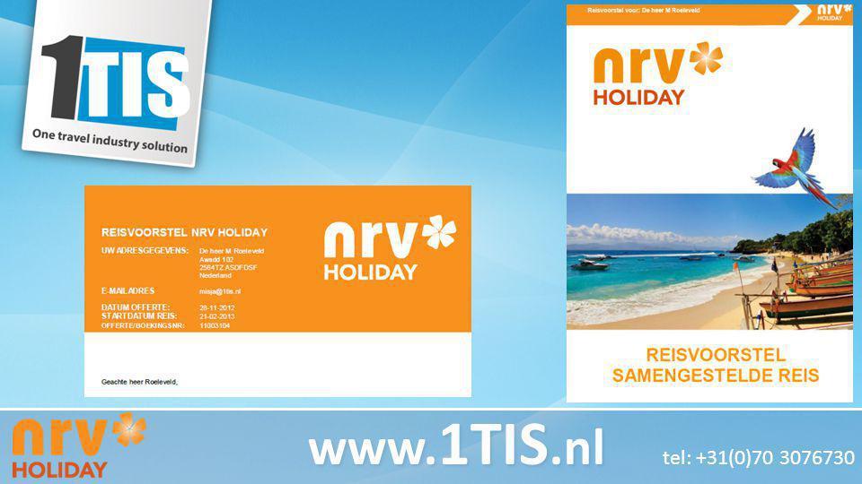 www. 1TIS.nl www. 1TIS.nl tel: +31(0)70 3076730