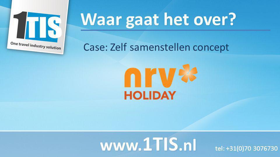 Waar gaat het over? Case: Zelf samenstellen concept www. 1TIS.nl www. 1TIS.nl tel: +31(0)70 3076730