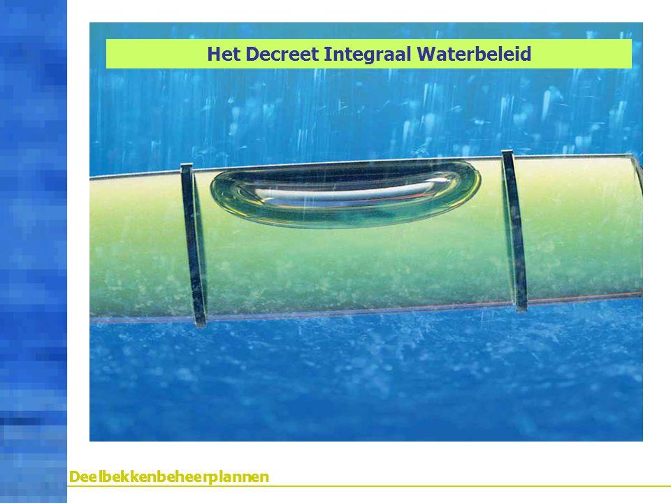 Het Decreet Integraal Waterbeleid