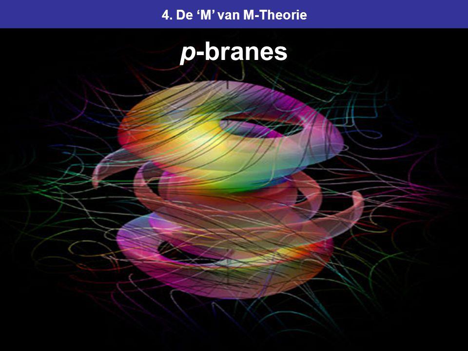 104 4. De 'M' van M-Theorie p-branes