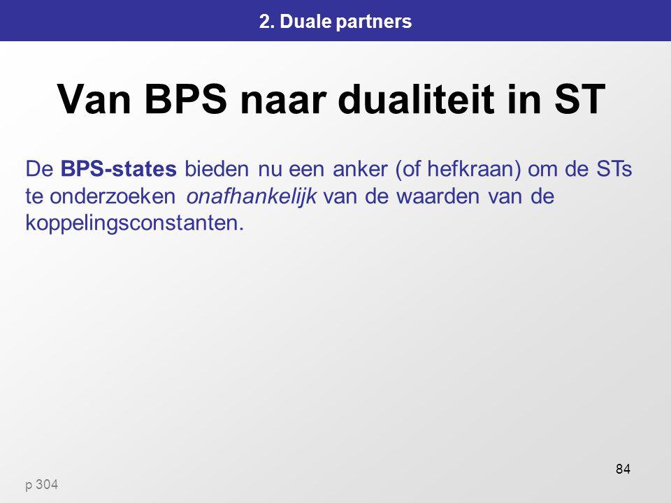 84 Van BPS naar dualiteit in ST 2.
