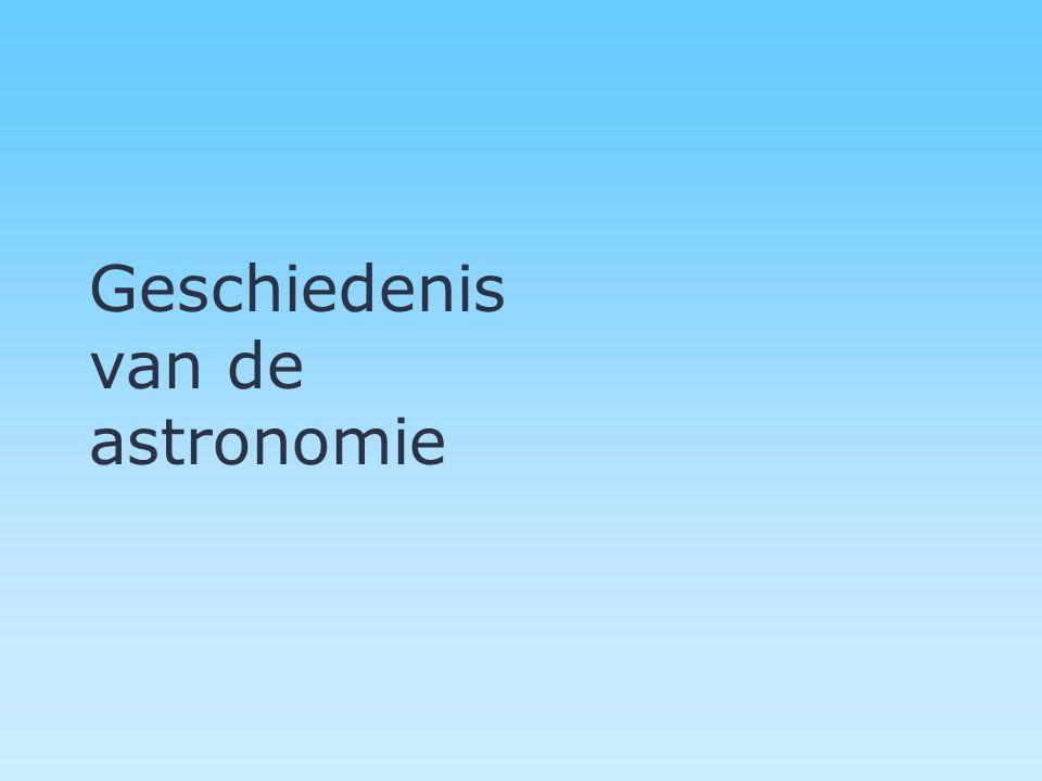 Geschiedenis van de astronomie