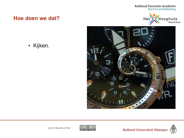 Dankjewel voor je tijd en aandacht L.taylor@docentenacademie.ru.nl of ltaylor@hethooghuis.nl