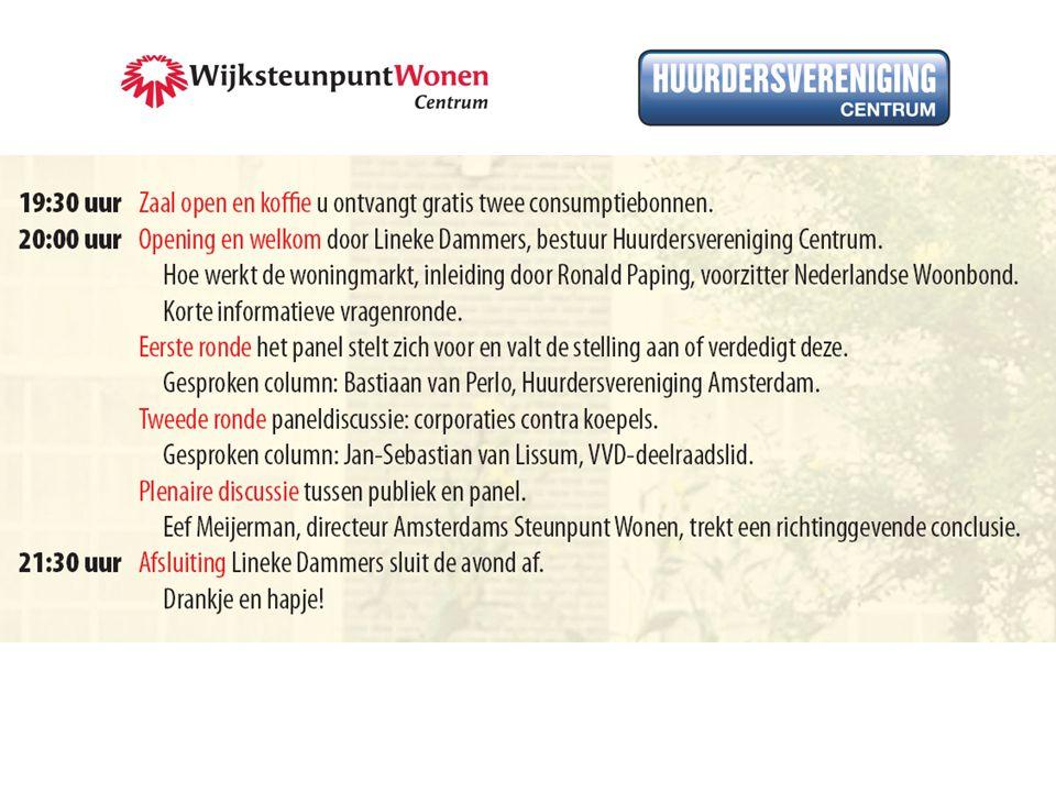 Dagmar Letanche algemeen bestuur Huurdersvereniging Amsterdam (HA)