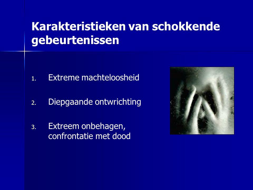 Psychotraumatologie: weerbaarheid en psychopathologie Prof. dr. Rolf Kleber Ede, 18 september 2007