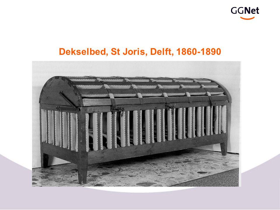 Dekselbed, St Joris, Delft, 1860-1890