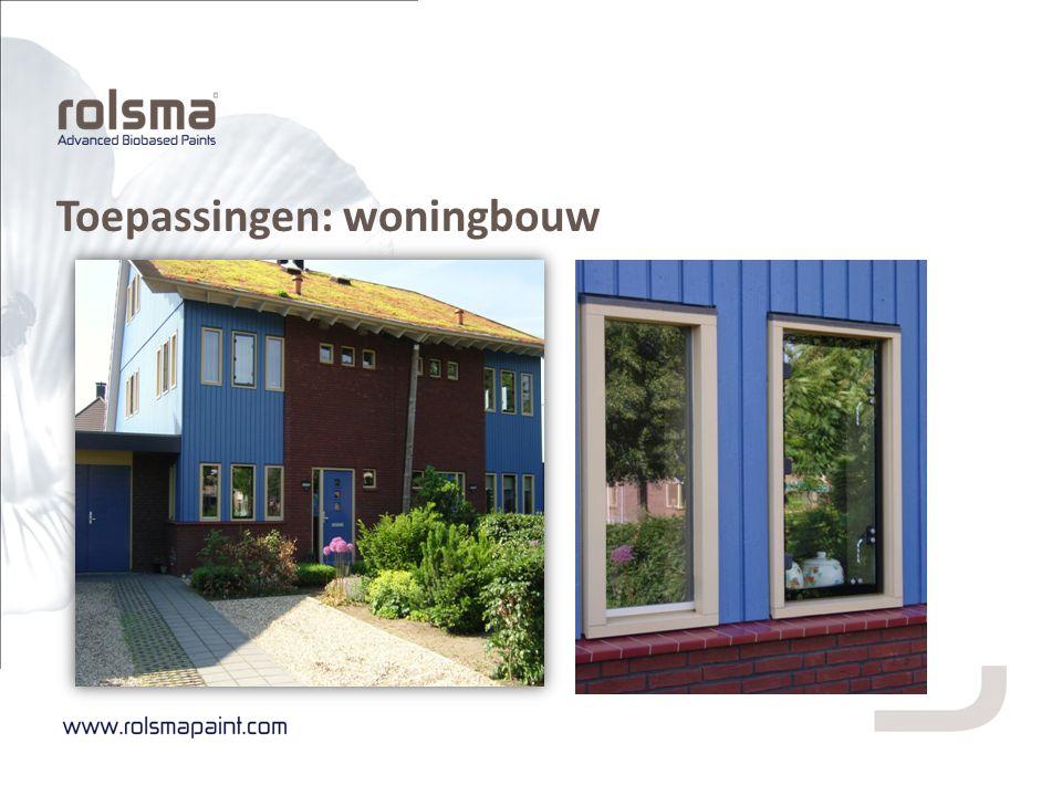 Toepassingen: woningbouw