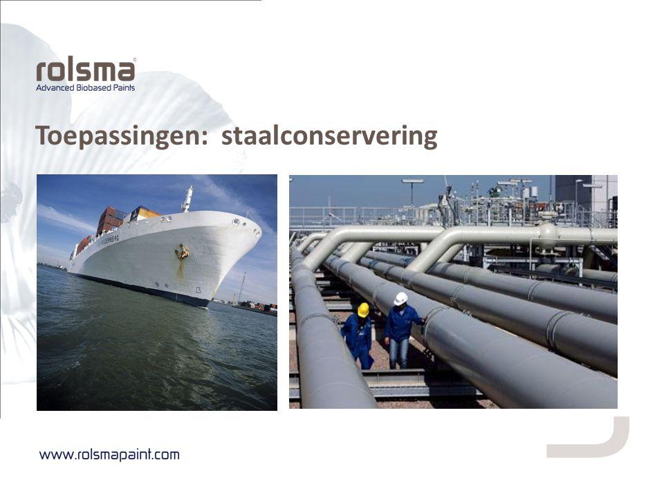 Toepassingen: staalconservering