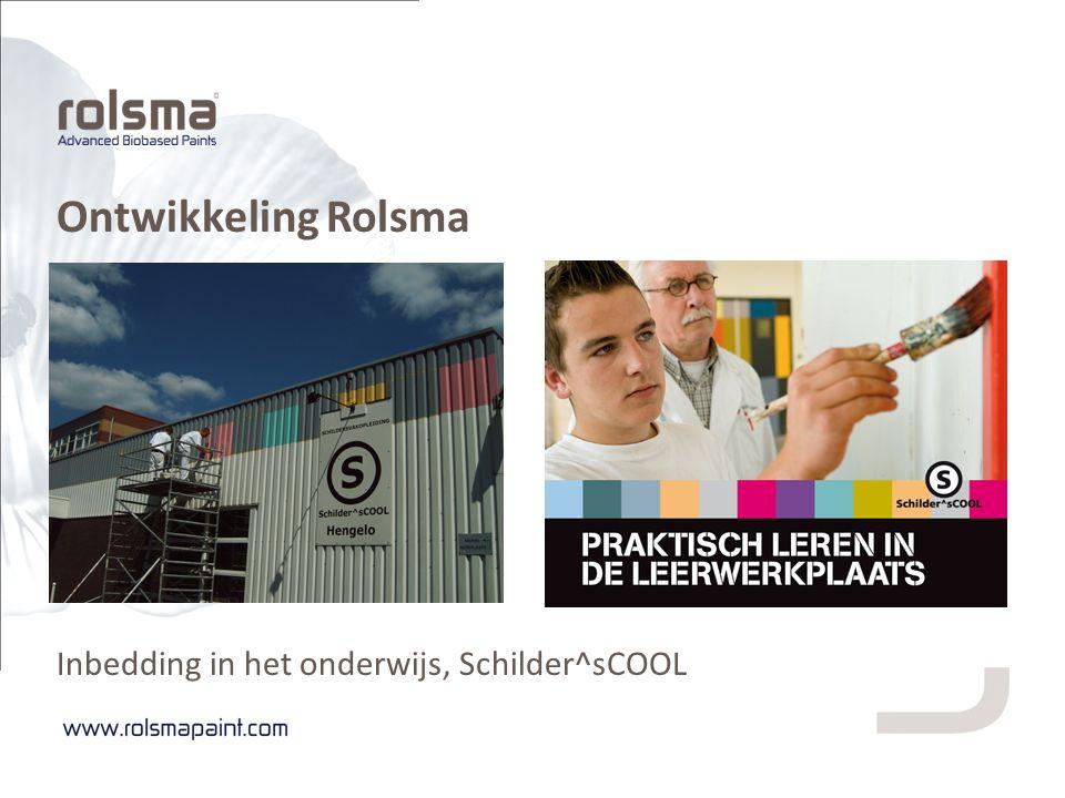 Ontwikkeling Rolsma Inbedding in het onderwijs, Schilder^sCOOL