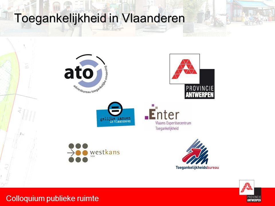 Toegankelijkheid in Vlaanderen Colloquium publieke ruimte
