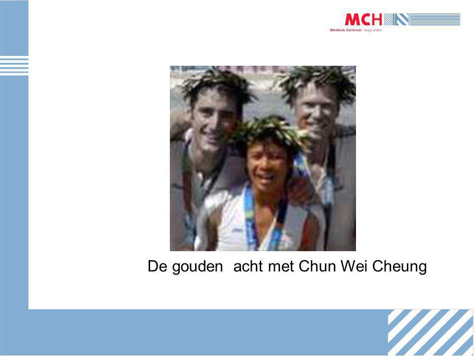 De gouden acht met Chun Wei Cheung