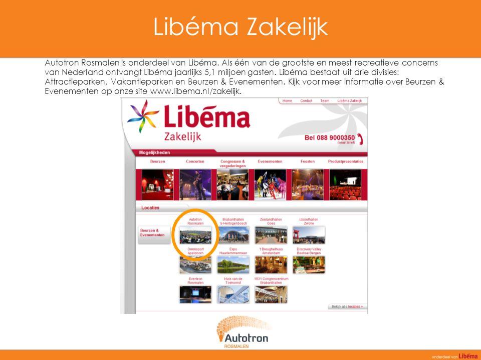 Libéma Zakelijk Autotron Rosmalen is onderdeel van Libéma. Als één van de grootste en meest recreatieve concerns van Nederland ontvangt Libéma jaarlij