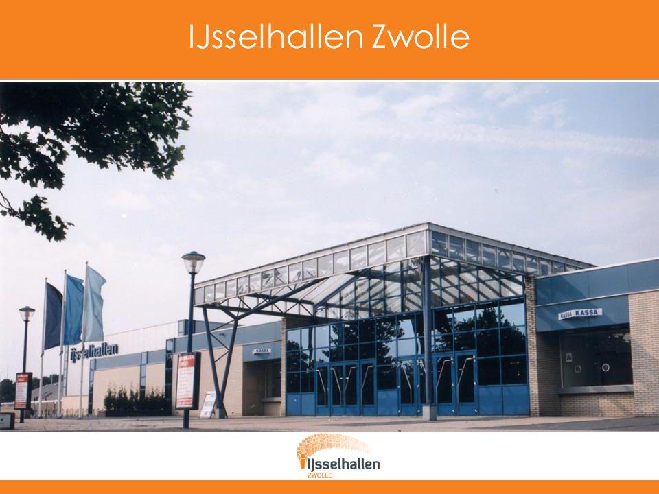 Alles is mogelijk bij IJsselhallen Zwolle