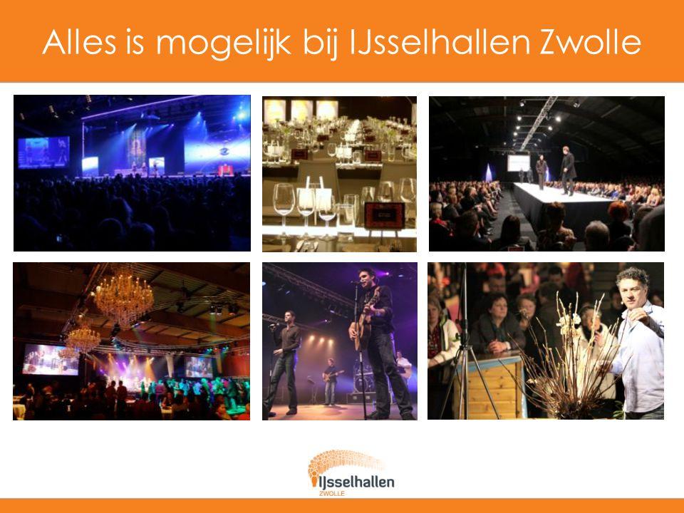 Waarom IJsselhallen Zwolle.